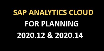 SAC Release 2020.12&2020.14